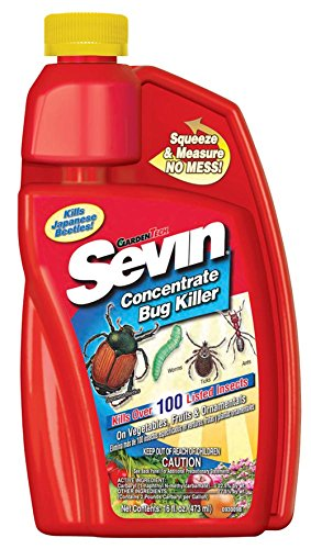 Sevin Concentrate Bug Killer, 16-Ounce (Concentrate Garden Bug Sevin)