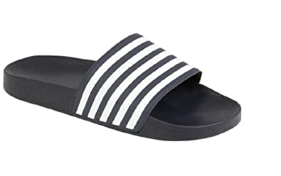 d6c774942 Boys Slider Flip Flops Size 10 11 12 13 1 2 3 4 5 6 Infant - Junior   Amazon.co.uk  Shoes   Bags