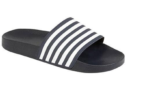 2535f1162a278 Boys Slider Flip Flops Size 10 11 12 13 1 2 3 4 5 6 Infant - Junior   Amazon.co.uk  Shoes   Bags