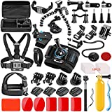 SmilePowo 42-in-1 Action Camera Accessorries for GoPro Hero 7 6 5 4 3/3+ 2...