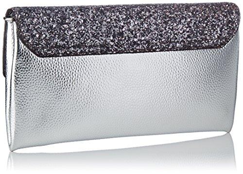 Guess HWSF68 62730 Kupplung Damen Silber (Silver) MfDiPqrI6