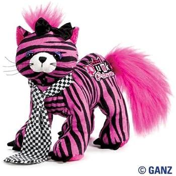 Amazon.com: Webkinz Rockerz - Cat with Trading Cards: Toys ...