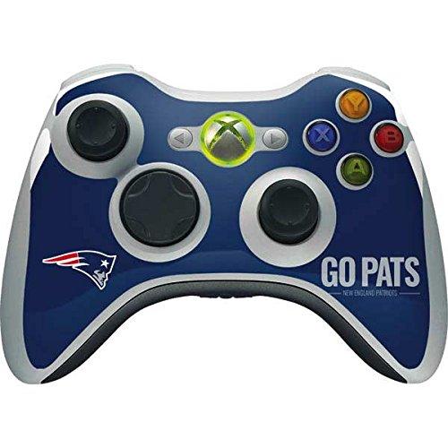 New England Patriots Xbox 360 Wireless Controller Skin - New England Patriots Team Motto | NFL X Skinit Skin (Xbox Skin 360 Controller Nfl)