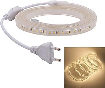 230V 220V LED Stripe 3014 Lichtleiste Lichtband Licht Schlauch Streifen Light 5M