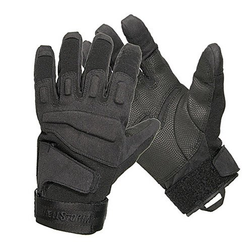 - BLACKHAWK! Men's Black S.O.L.A.G. Special Ops Full Finger Light Assault Glove (Black, Large)