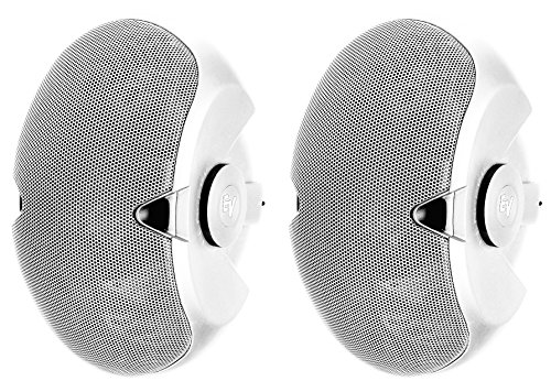 - Electrovoice EVID 4.2tw Mount Speaker Dual 4 Inch Woofers 70-100V Transformer White 1 Pair.
