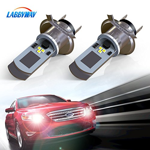 LABBYWAY 2 Pcs H4 LED Bulb Super Bright 900 Lumen Motorcycle Headlights Lamp High Low Beam Lights Used for Suzuki Kawasaki BMW Yamaha Honda,Xenon White - Used Bmw Motor