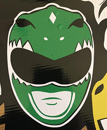 (Mighty Morphin Power Rangers - Green Ranger Helmet)