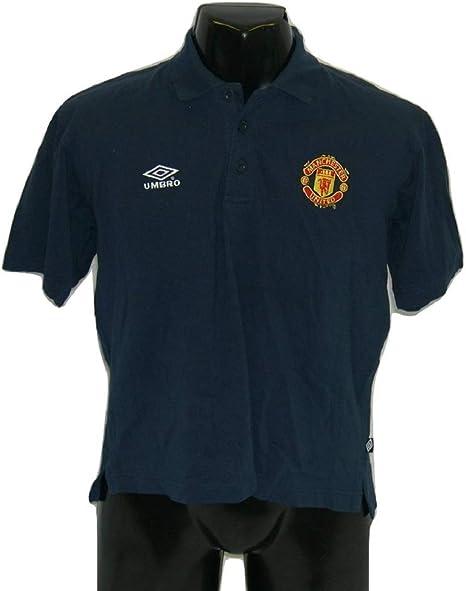 Umbro Manchester United Polo Shirt 34 Inch Chest Amazon Co Uk Sports Outdoors