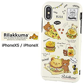 Amazon Iphonexs Iphonex リラックマ ソフト ケース キャラクター