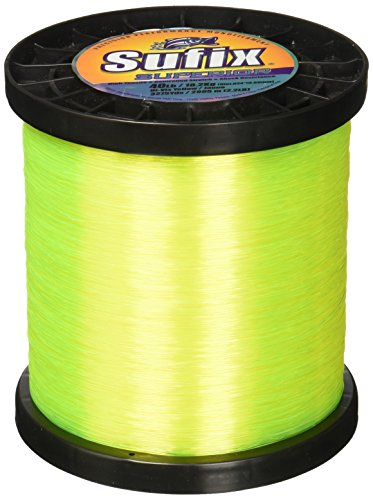 (Sufix Superior Spool Size Fishing Line (Yellow, 130-Pound))