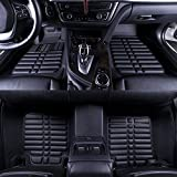Oshotto - Premium Quality Custom Fit 3D Car Mats For - FORD FIGO- Set of 5Pcs (2 PC front & 3 rear pc)