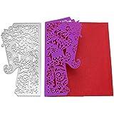 Vanvler Metal Die Cutting Dies Stencil for DIY Scrapbooking Album Paper Card Decor Craft (I elephant)