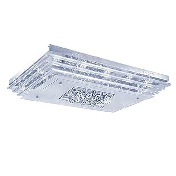 MCTECH® 48W kristall Deckenleuchte Deckenbeleuchtung Deckenlampe ...