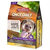 The Missing Link – Once Daily All Natural Omega Dental Chew – Hips, Joints & Teeth – L/XL Dog – 14 Day Supply