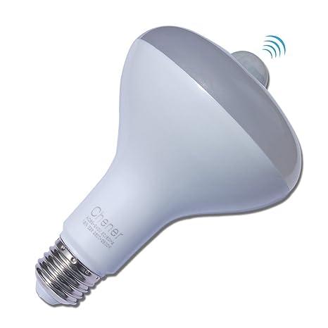 chener A19 LED Sensor de movimiento luz bombilla 9 W E26 E27 automático interruptor equivalente a