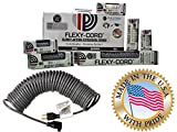 Flexy-Cord® Multi-Pack 8 10 15 20 & 45 Ft Coiled Extension Power Cord
