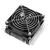 Thermoelectric Cooler, Mini 15L Thermoelectric Cooler Module Semiconductor Refrigeration Kit Water Cooling Device