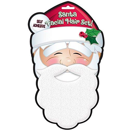 santa facial hair set (Child Santa Wig And Beard)