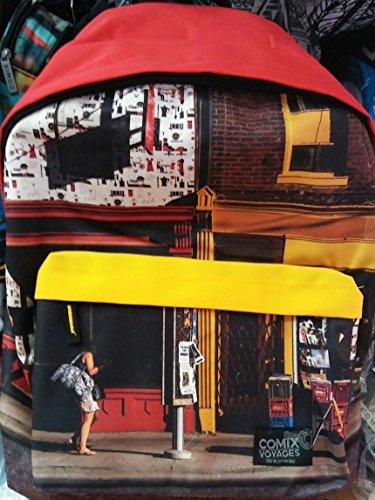 COMIX Mochila americano Voyages Special Rojo Cod. 15526