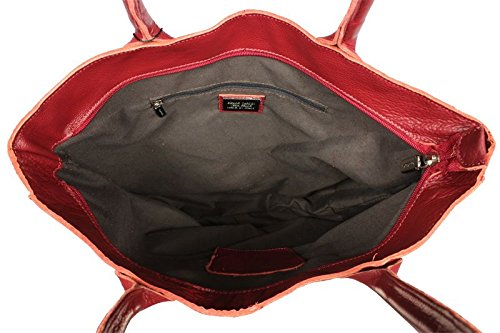 Neue Hand Tasche, Borsa a spalla donna rosso red
