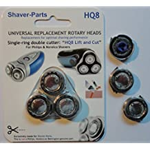 Norelco's compatible Shaving Heads HQ8 (HQ177) LIFT & CUT Alternative (Fits) for Norelco (Philips) Shavers