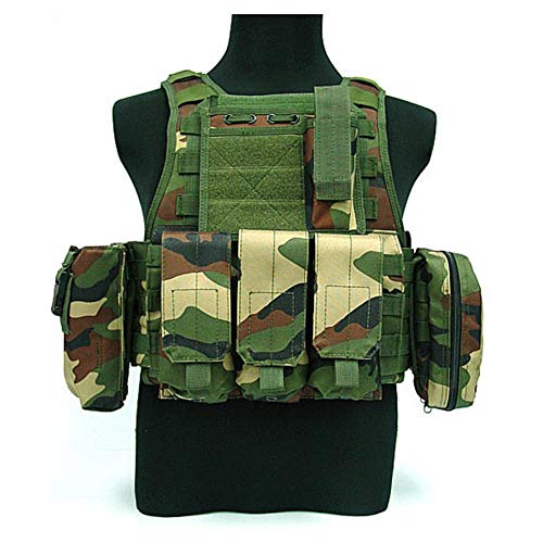 Noir Amovible Field Pochette Paintball Ghost Gilet Tactique Outdoor Junglecamouflage amp;ai Combat Lxy Jungle MilitaireAirsoft eExodQrCBW