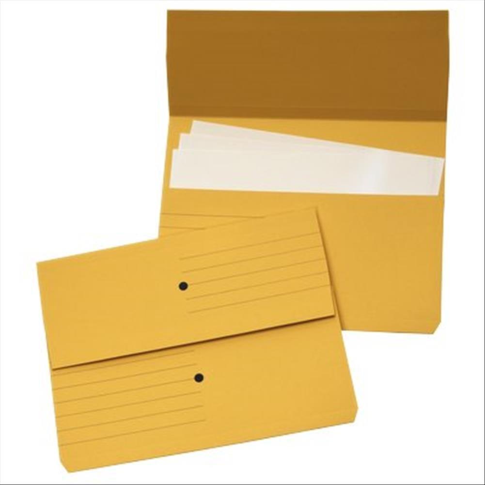 4company 3240 04 Woodstock Cartelline Canguro, Giallo 32.5x25.5 cm, 225 G/MQ, Confezione 10 4Company Srl