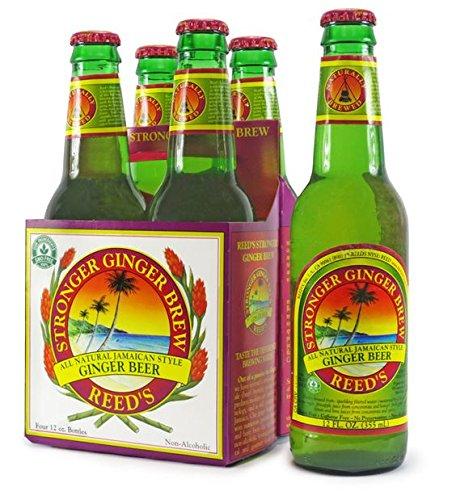 (Reed's Stronger Ginger Beer 12 oz (Pack of 8 Bottles))