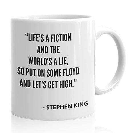 Amazon.com: Stephen - Taza de café con cita de película de ...