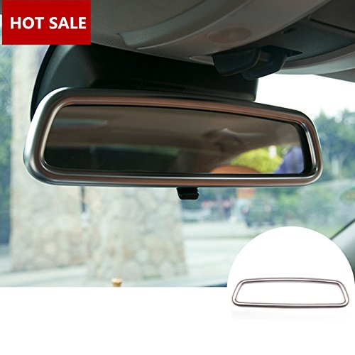 Interior Rear View Mirror Frame Trim Cover 1pcs For VOLVO V60 2012-2017