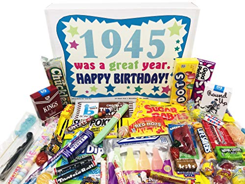 1945 Was a Great Year Candy Gift Basket