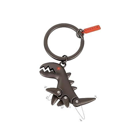 Amazon.com: Sanlan - Llavero de aleación con dinosaurio ...
