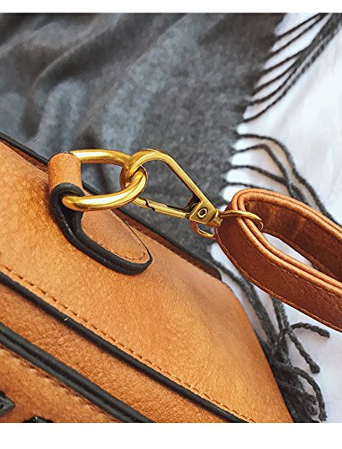 Borsa tracolla a Borsa piccola tracolla a Borsa da personalizzata moda viaggio Khaki da donna vintage ricamata 7Y0qx5Uw
