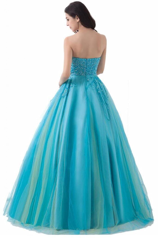 Sunvary Strapless Draped Ruffle Side Zipper Rhinestone Bridesmaid Prom Gowns-26W-Pink