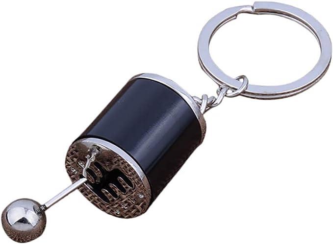 Hosaire 1X Llaveros de Automoción Llavero Estilo Palanca de Cambios Coche Accesorios de Joyería Monedero del Coche Adornos Encanto Colgante de Regalo Accesorios de Joyería (Negro): Amazon.es: Hogar