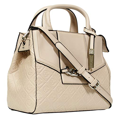 Beige Handbag Embossed - CXL by Christian Lacroix Embossed Satchel Bag for Women