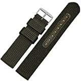 ZHUOLEI NYLON STRAP FOR S2/ TICWATCH 18/20/22/24MM 4 COLOURS