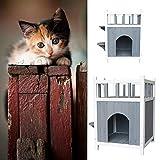 meetinglea Cat Wooden Litter Box