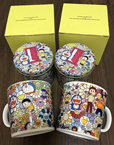 ドラえもん 展 村上隆 マグカップ ペア 紅茶 ルピシア THE 缶 グッズ 限定 名古屋 Tokyo フレーバード ティー プレート カトラリー セット
