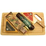 GreatArrivals Gift Baskets Cheese Board Delights: Cheese and Cracker Gift Basket, 0.91 Kilogram