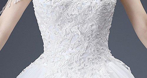 Vestito Nuziale Spalla bianca Modo Dididd Da Sposa Parola Della m Cerimonia Nappa Di tUx4nwHd