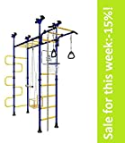 Sale:-15%! PEGAS: Children's indoor home gym Swedish Wall Playground Set Gymnastic ladder Horizontal bar moving Gymnastic Rings Trapeze Climbing Rope Hole snake Basketball Swing Gyms Climber