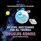 Front cover for the book So Long, and Thanks for All the Fish by Douglas Adams