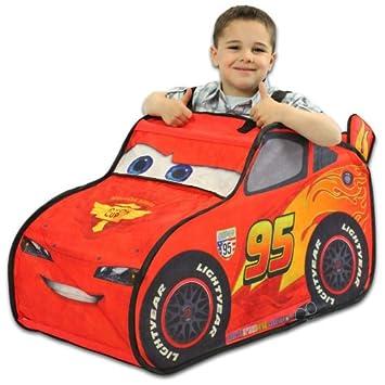 Disney Pixar Cars Lightning McQueen Pop Up Tent Mini Driver Costume  sc 1 st  Amazon UK & Disney Pixar Cars Lightning McQueen Pop Up Tent Mini Driver ...