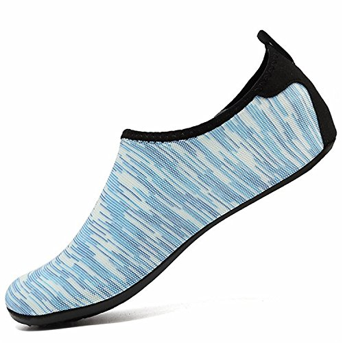 Beach Surf Mens LK Dry Barefoot Swim Aqua Socks Yoga Aerobics Quick Shoes Shoes green for Womens Skin Water Hw Shoes Pool Kids LEKUNI ww0qSUg