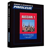 Pimsleur Russian Level 1 CD: Learn to Speak and Understand Russian with Pimsleur Language Programs