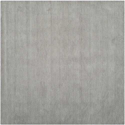 Safavieh Himalaya Collection HIM610K Handmade Grey Premium Wool Square Area Rug (8' Square)