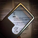 Wapodeai 6X 3X LED Magnifying Glass with