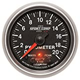 """Auto Meter 3647 2-1/16"""" 0-2000 F Full Sweep Electric Pyrometer E.G.T. (Exhaust Gas Temperature)"""